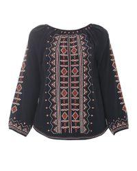 Tory Burch   Black Divine Cashmere Sweater   Lyst