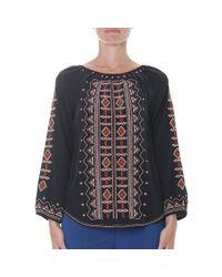 Tory Burch - Black Divine Cashmere Sweater - Lyst