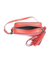 Anya Hindmarch - Neon Red Leather Bag - Lyst
