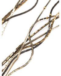 Rosantica - Multicolor Metal Roccia Necklace - Lyst