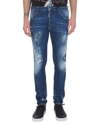 DSquared² | Washed Blue Denim Cool Guy Jeans for Men | Lyst