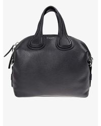 Givenchy - Black Leather Nightingale Bag - Lyst