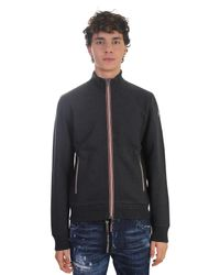 Moncler - Multicolor Zipped Cotton Sweatshirt for Men - Lyst