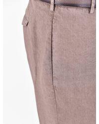Dell'Oglio - Multicolor Linen Trousers for Men - Lyst
