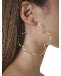 Simone Rocha - Metallic Gold Plated Silver Earrings - Lyst