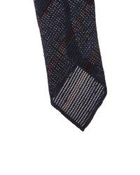 Lardini - Multicolor Silk And Wool Striped Tie for Men - Lyst
