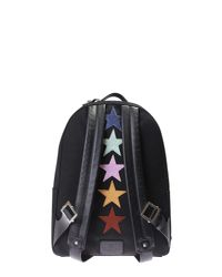 Valentino | Black Punk Poem Nylon Canvas Backpack for Men | Lyst