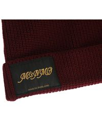 Stella McCartney - Purple Ribbed Wool Hat for Men - Lyst