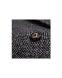 Dell'Oglio - Blue/grey Textured Wool Coat for Men - Lyst