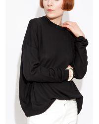 Acne | Black Carel Merino Wool Sweater | Lyst