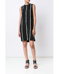 Derek Lam | Black Side Cut-out Band S/l Dress | Lyst