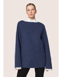 Derek Lam - Blue Asymmetrical Sweater - Lyst