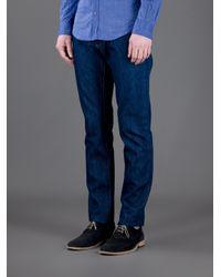 Dolce & Gabbana   Blue Straight Leg Jean for Men   Lyst