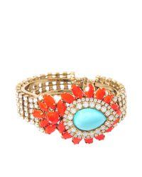 Helene Zubeldia | Khon Crystal Multicoloured Bracelet | Lyst