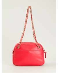 Tory Burch - Red 'Thea' Chain Cross Body Bag - Lyst