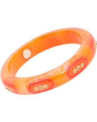 Mark Davis | Orange Vintage Bakelite Bangle | Lyst
