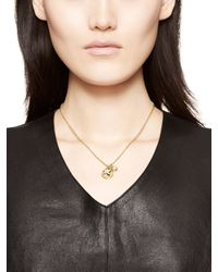 kate spade new york | Metallic Born To Shine Star Charm Necklace | Lyst