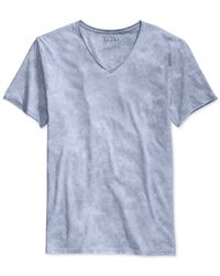 Guess | Blue Gunnarson Acid-wash T-shirt for Men | Lyst