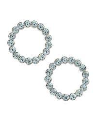 Rebecca | Metallic Earrings | Lyst