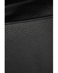 The Row | Black Textured-leather Weekend Bag | Lyst