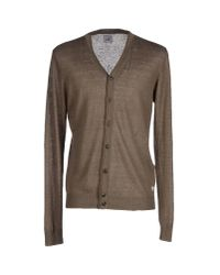 C P Company - Green Cardigan for Men - Lyst