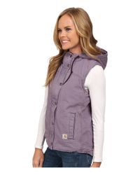 Carhartt - Purple Sandstone Berkley Vest Ii - Lyst