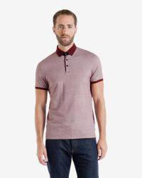 Ted Baker | Red Chapmun Polo Shirt for Men | Lyst
