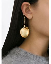 Undercover - Metallic Apple Drop Ear Cuff - Lyst