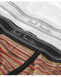 Paul Smith | White Two Pack Of Boxer Briefs for Men | Lyst