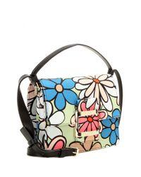 Roger Vivier | Multicolor Icon Mini Canvas Shoulder Bag | Lyst