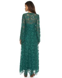 Free People | Blue Cool & Sensual Lace Maxi Dress - Ballet | Lyst