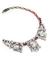 Venessa Arizaga - Multicolor 'rave On' Necklace - Lyst