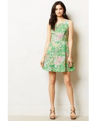 Maeve | Green Laced Verbena Dress | Lyst
