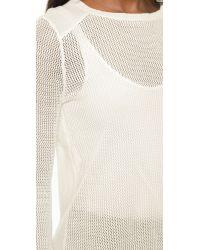 BB Dakota - White Rosie Sweater - Lyst