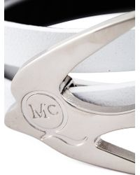 McQ - White Swallow Triple Wrap Bracelet - Lyst