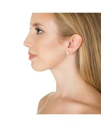 Kenneth Jay Lane | White Classic Pearl Studs | Lyst