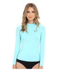 Xcel Wetsuits - Blue Paradise Uv Long Sleeve With Key Pocket - Lyst