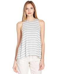 Joie - Gray Phan Top - Lyst