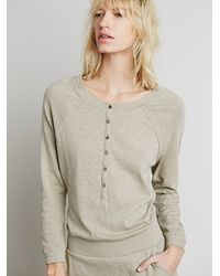 Free People - Brown Fp Beach Womens Desert Jumper - Lyst