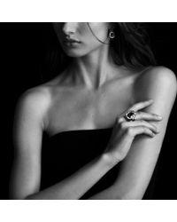 David Yurman - Labyrinth Ring with Black Onyx and Diamonds - Lyst