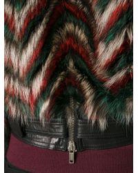 Givenchy - Multicolor Chevron Print Jacket - Lyst