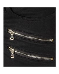 PAIGE - Black Edgemont Skinny Jeans - Lyst