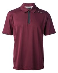 Porsche Design   Red Classic Jersey Polo Shirt for Men   Lyst