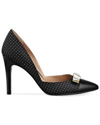 Isaac Mizrahi New York - Black Lizette Pumps - Lyst