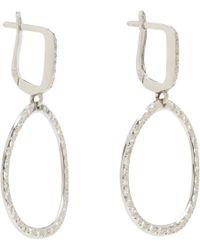 Ileana Makri - Diamond White Gold Again Single Earrings - Lyst