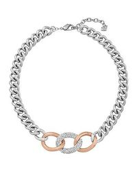 Swarovski | Multicolor Bound Necklace | Lyst