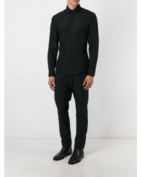 Givenchy - Black Star Embroidered Shirt for Men - Lyst