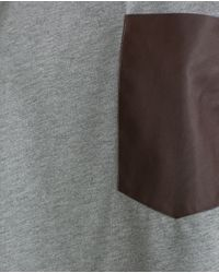 Zara | Brown Oversize T-shirt | Lyst