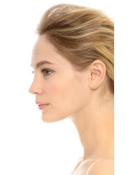 EF Collection | Pink Floating Stone Curved Bar Left Ear Crawler | Lyst