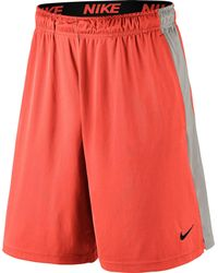 Nike - Orange 9'' Fly Shorts for Men - Lyst